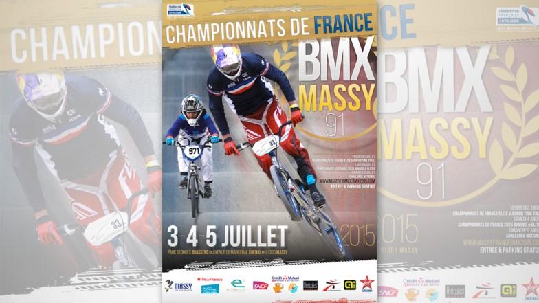 affiches Championnats de France BMX