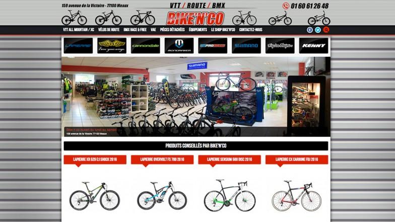 bikenco site catalogue