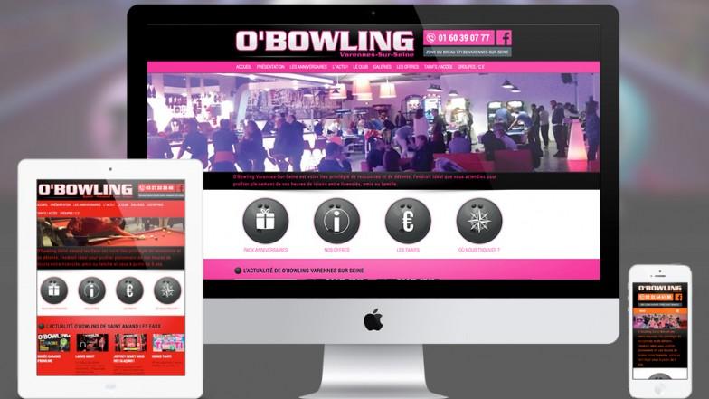 site bowling création