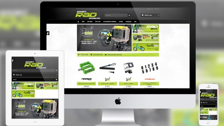 E-commerce B2B sport rad